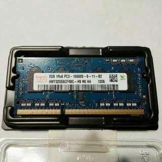 Apple 2GB DDR3 1333MHz PC3-10600S RAM For Macbook, Original
