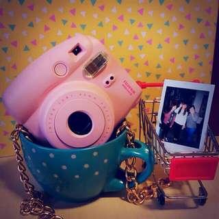 富士拍立得mini8-粉色+贈周邊商品✨