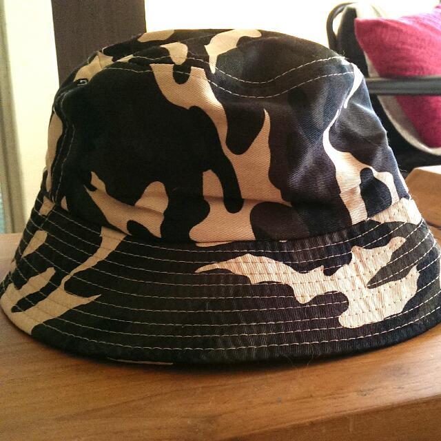 迷彩🚩魚夫帽❤