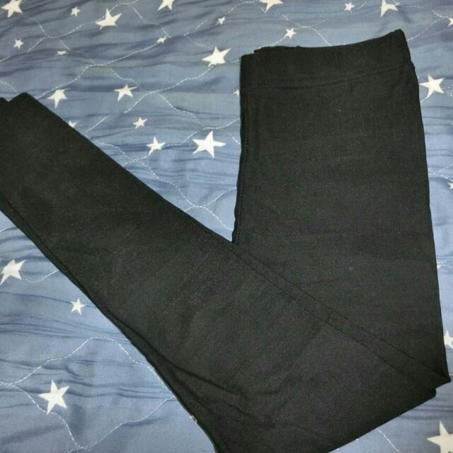 全新黑長褲