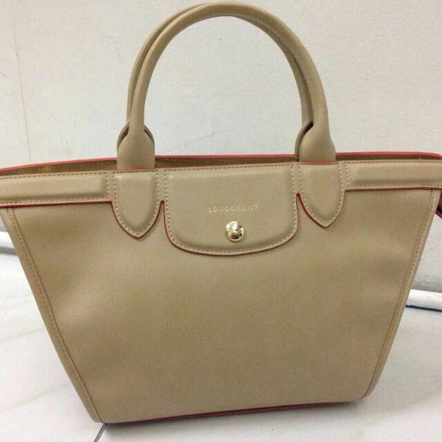 BN Longchamp Soft leather Heritage