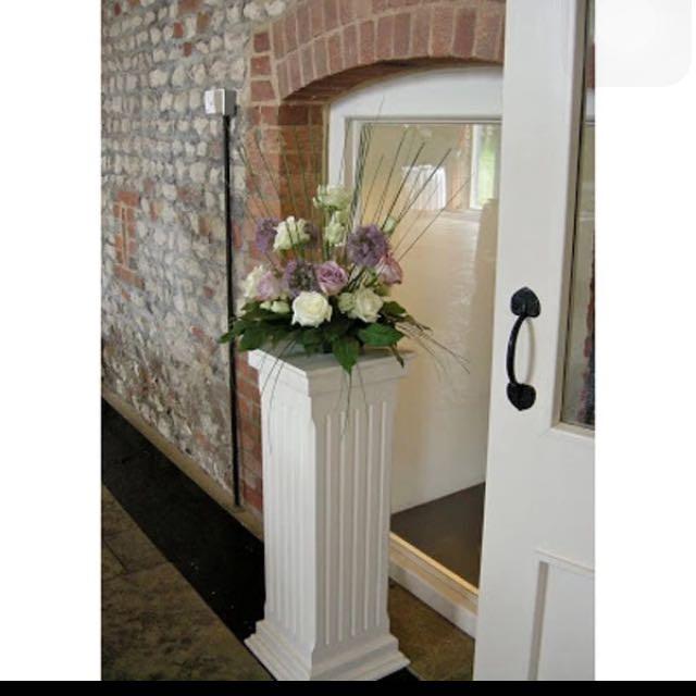 Wedding Stage Pillar Decoration For Rental Pelamin Dais