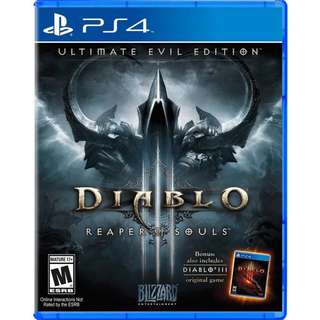 Looking For Diablo 3 R1 PS4