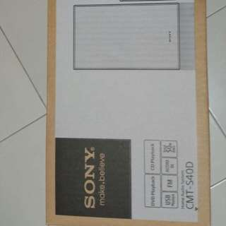 SONY Home AUDIO system