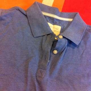 全新 Latvi 水藍色 Polo衫
