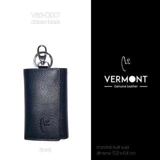 Dompet Kulit VERMONT V83-G001 Classic Black