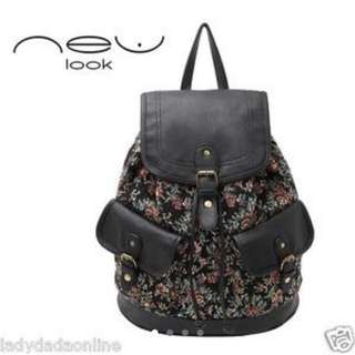 New Look Floral Backpack