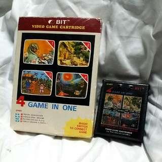 Atari 4 In 1 Game Cartridge