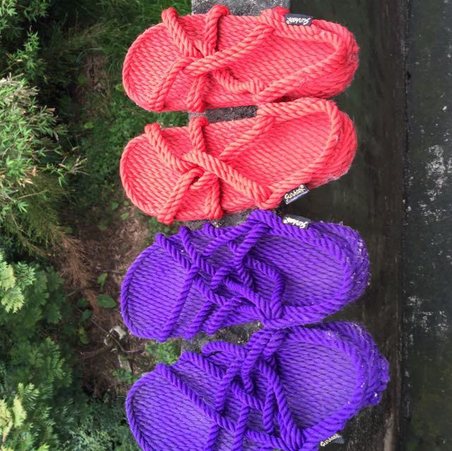 品牌繩子鞋 正品
