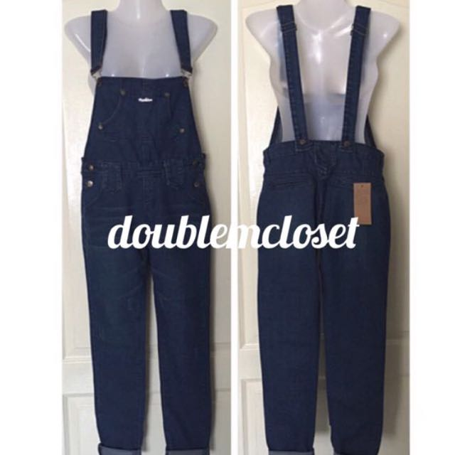 Denim Overall XL BNWT