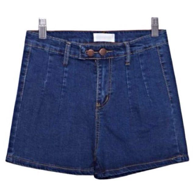 全新M號(S號女生較適合)高腰牛仔短褲