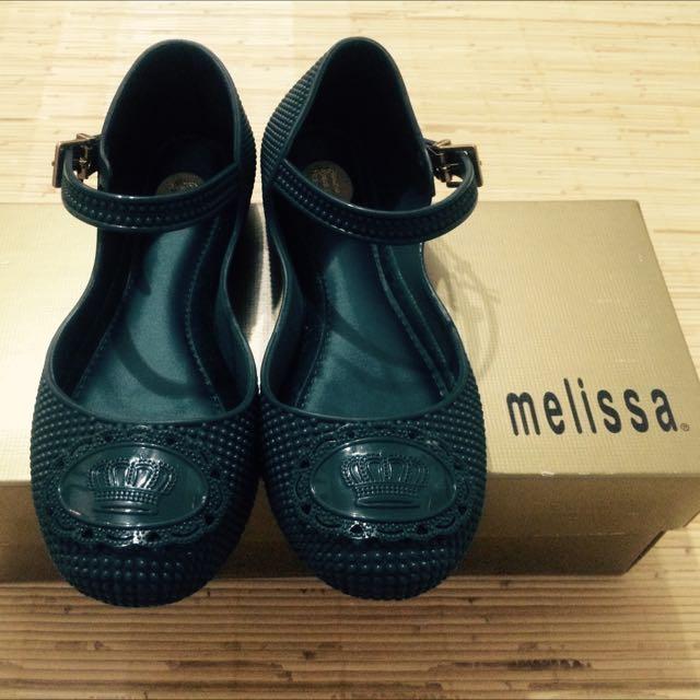 melissa 墨綠香香膠鞋(保留中)