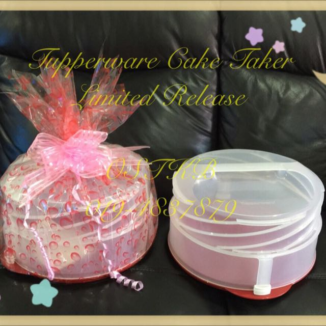 Tupperware Cake Taker ...
