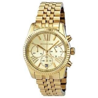 Michael Kors Gold Watch Model 5556
