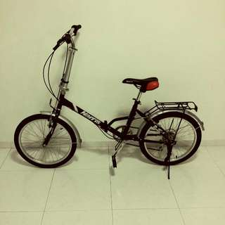"""20"""" Foldable Bicycle (6 Speed)"""