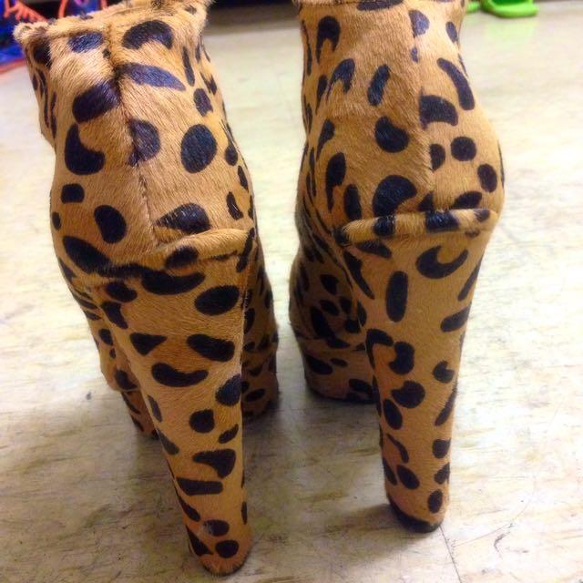 出清❗️豹紋高跟鞋👠