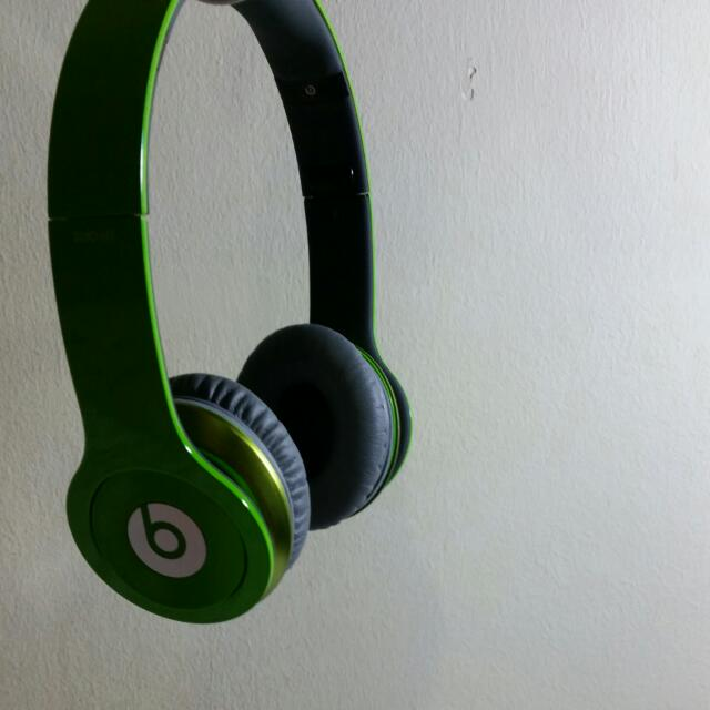 Beats Solo Hd Lime Green Electronics On Carousell