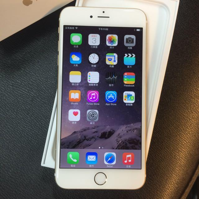 iPhone 6 Plus  5.5吋  金色 64G