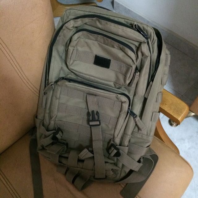 Reserved - Preloved Army Backpack