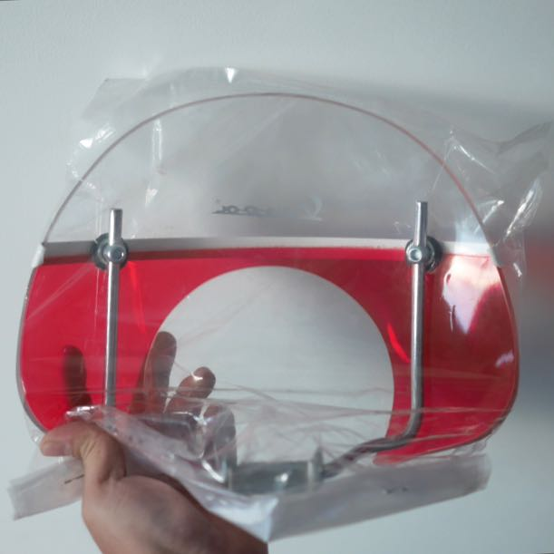VBB Vespa Windshield
