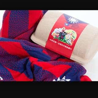 104年國旗圍巾
