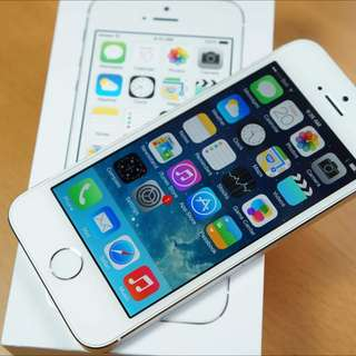 Iphone 5s 32gb Silver Mint