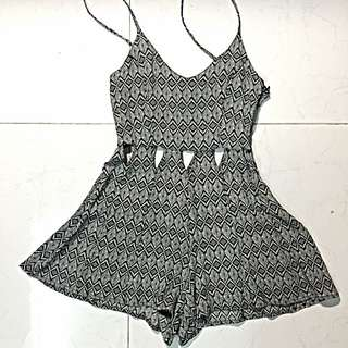 TOPSHOP Aztec Playsuit