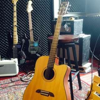 Alvarez AD30 單板民謠吉他