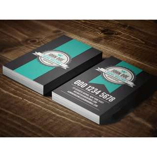 High Quality Business Card with design