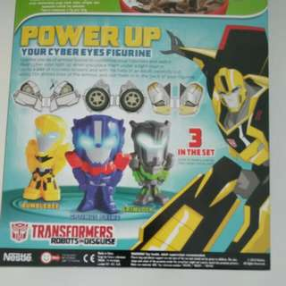 Transformer Toy From nestle