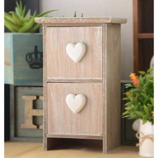 C5707 BRAND NEW SHABBY CHIC VINTAGE HOME DECOR PAJANGAN DEKORASI RUMAH Wooden drawer storage box