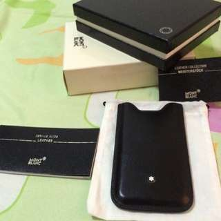 Reserved-Preloved Authentic MontBlanc iPhone 5/5s Case