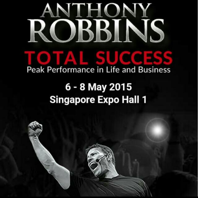 5% Discount For Tony Robbins Event