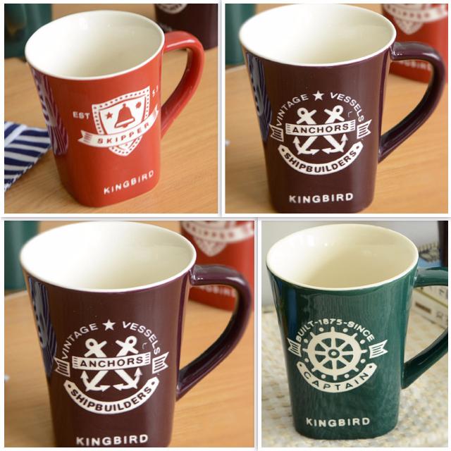 A0175 BRAND NEW SHABBY CHIC VINTAGE HOME DECOR PAJANGAN DEKORASI RUMAH Cup Glass - Cangkir Cup Mug Gelas Mnium Keramik