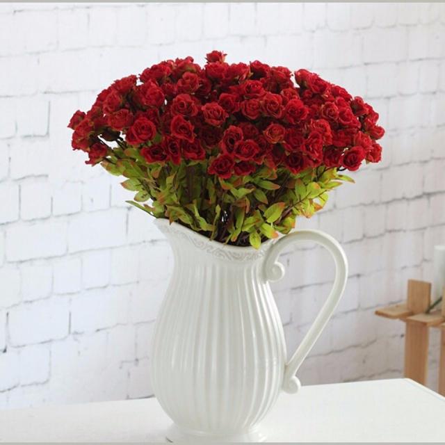 AF5 BRAND NEW SHABBY CHIC VINTAGE HOME DECOR PAJANGAN DEKORASI RUMAH Dekorasi Synthetic Fake Flower Plant Tanaman Palsu Sintetis