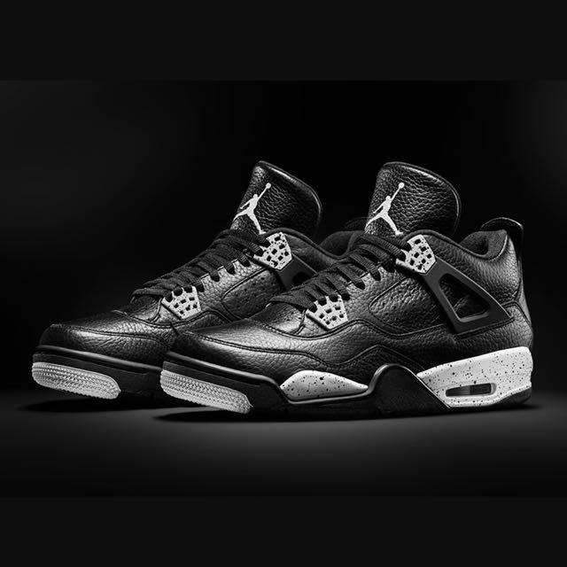 Air Jordan Retro 4 Oreo, Men's Fashion