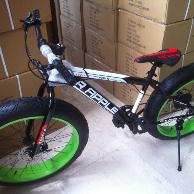 Brand New Shimano Fat Bike Trx Pro Ready Stock Sports On