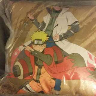 Naruto And His Father Pillow