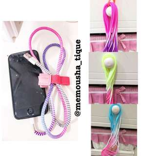 Gradient Colours Cord Protector