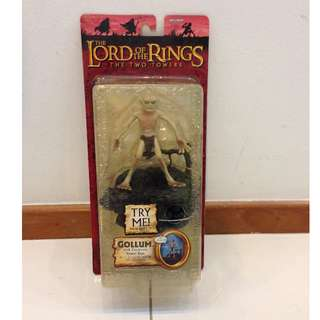 LOTR Lord of The Rings Gollum TTT MOSC. What you see is what you get.