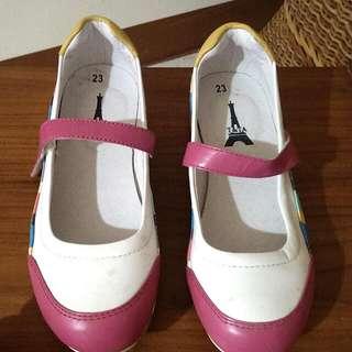 彩虹色休閒鞋❤