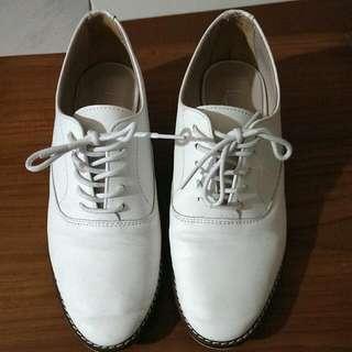 白色紳士鞋❤