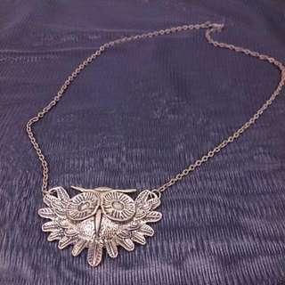 個性項鍊《古銅色貓頭鷹》