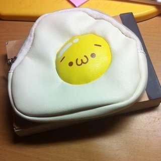 (全新)荷包蛋錢包