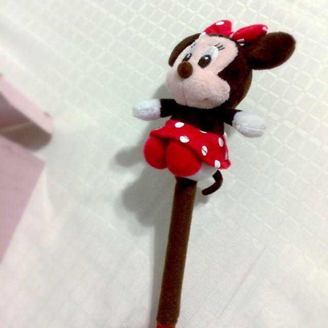 迪士尼正版米妮原子筆