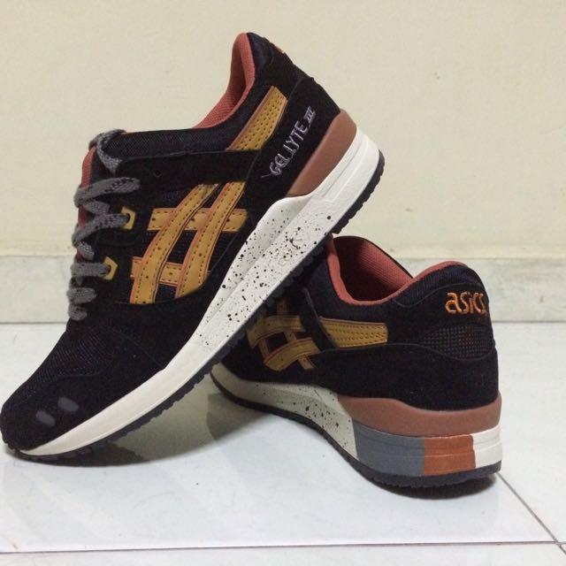 Lyte Shoes Asics Gel Black Iii Tan And Sneakersnew 4jqRLc35AS