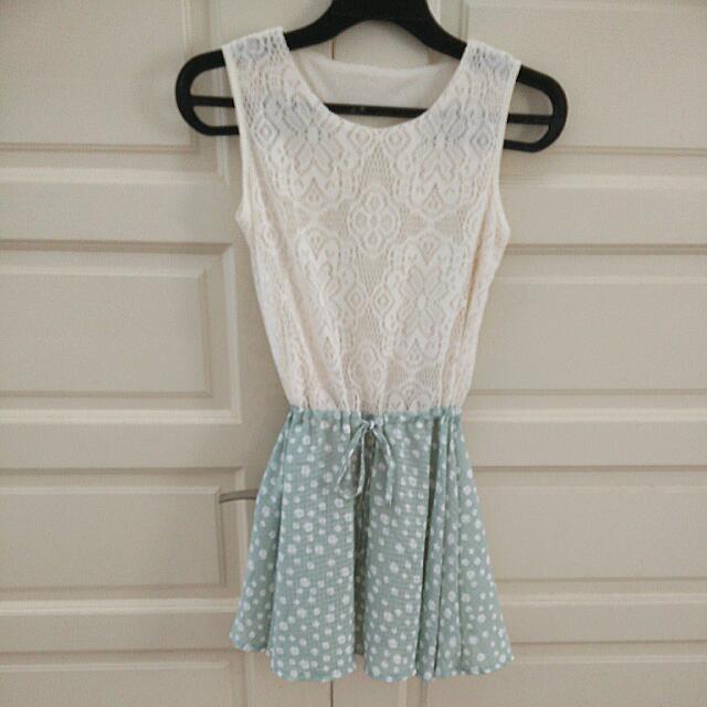 BN Lacey Polkadot Top/ Mini Dress