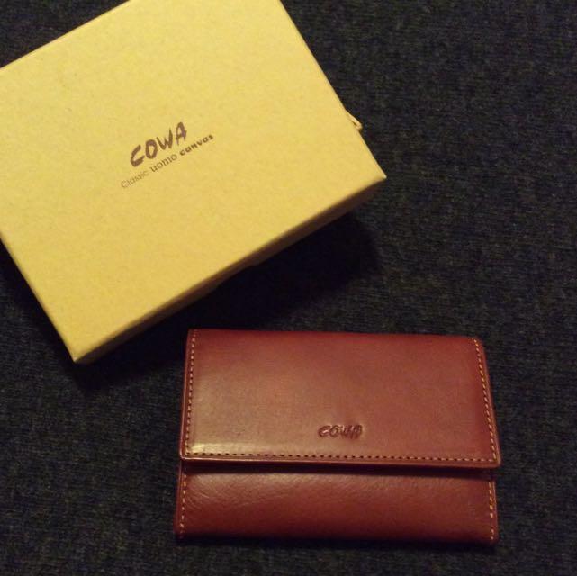 COWA。名片、鑰匙、零錢三用包🌟《商品保留中》