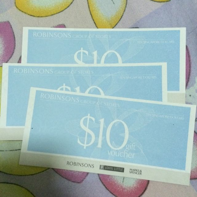 ReServed - ROBINSONS GIFT VOUCHER