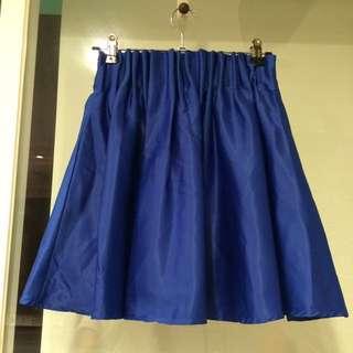 歐美俏麗滑布短裙